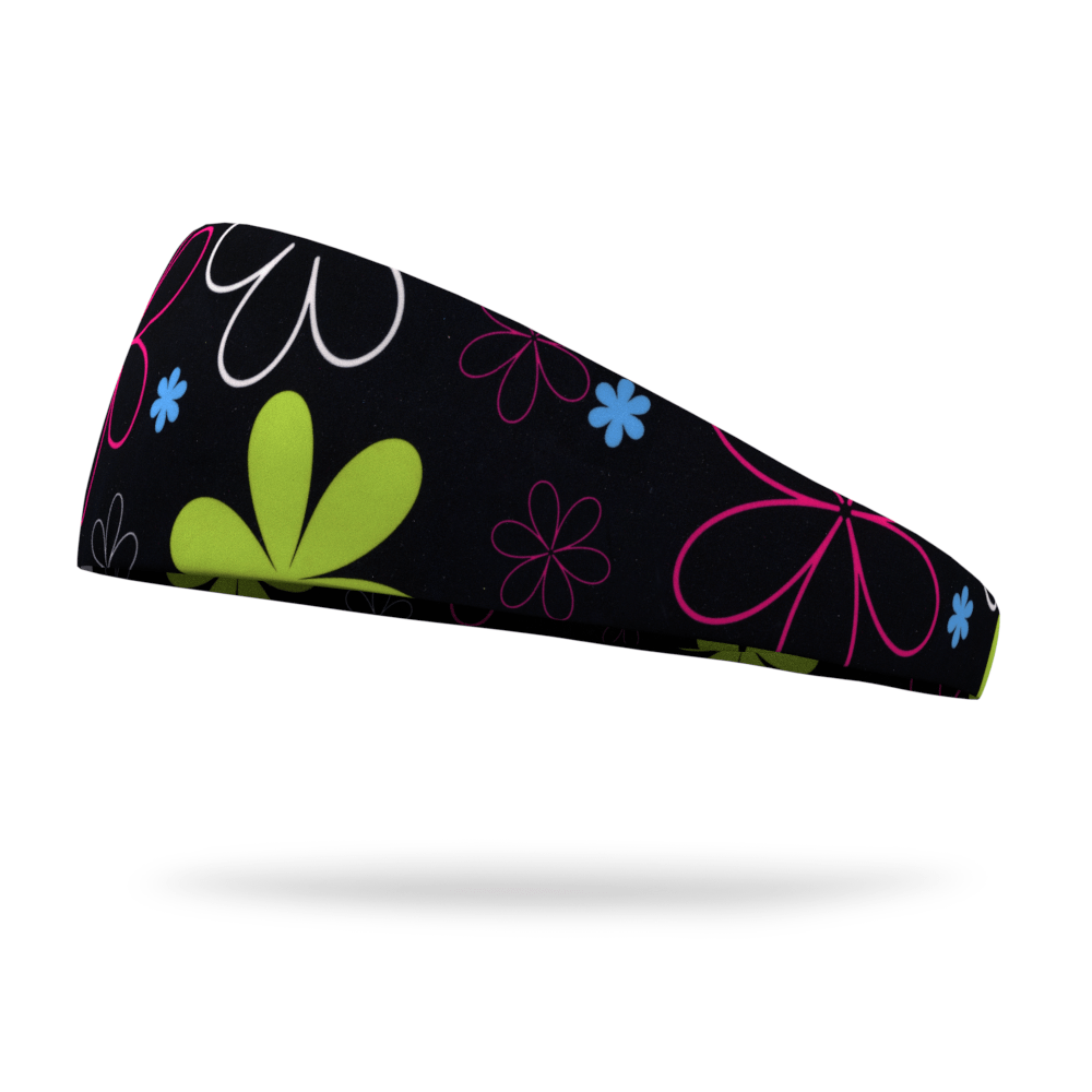 Floral Colorful Dyed Wicking Headband