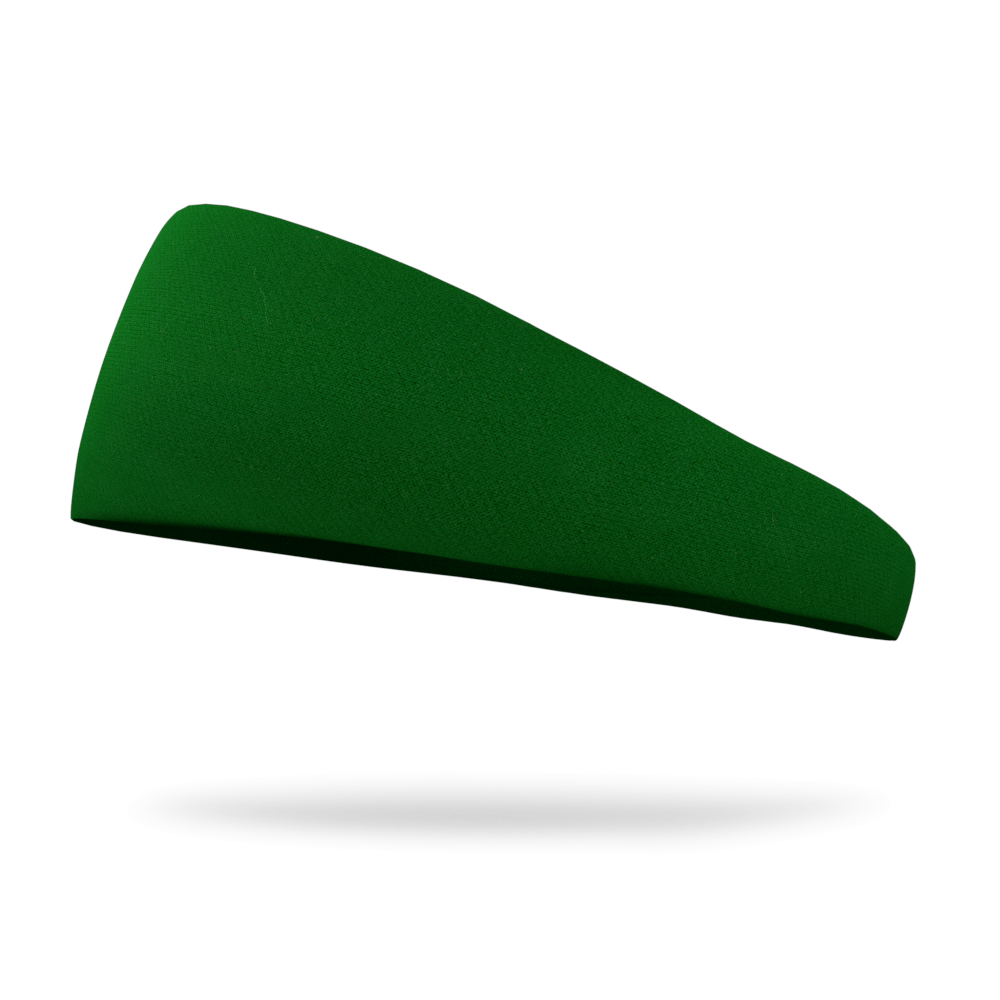 Moss Green Solid Color Headband