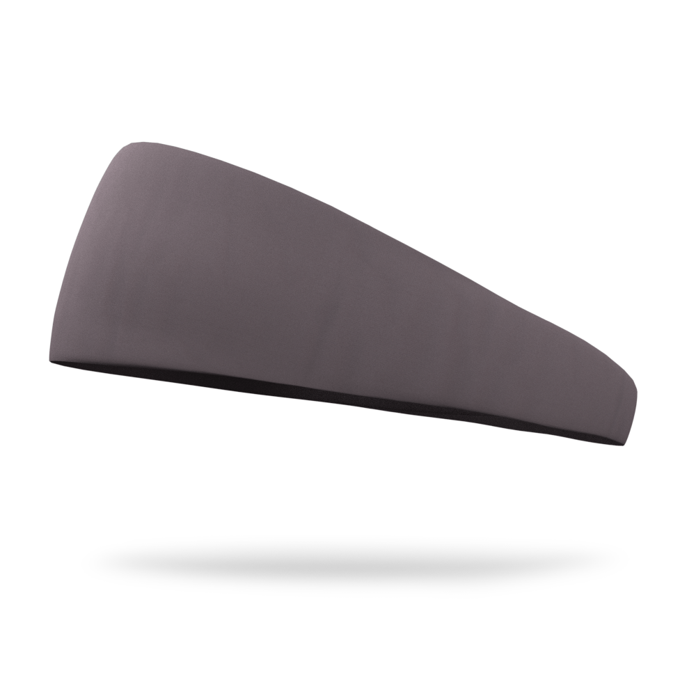 Slate Grey Solid Color Headband