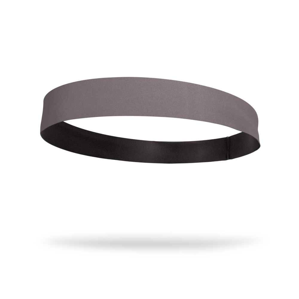 Gray Solid Color Headband