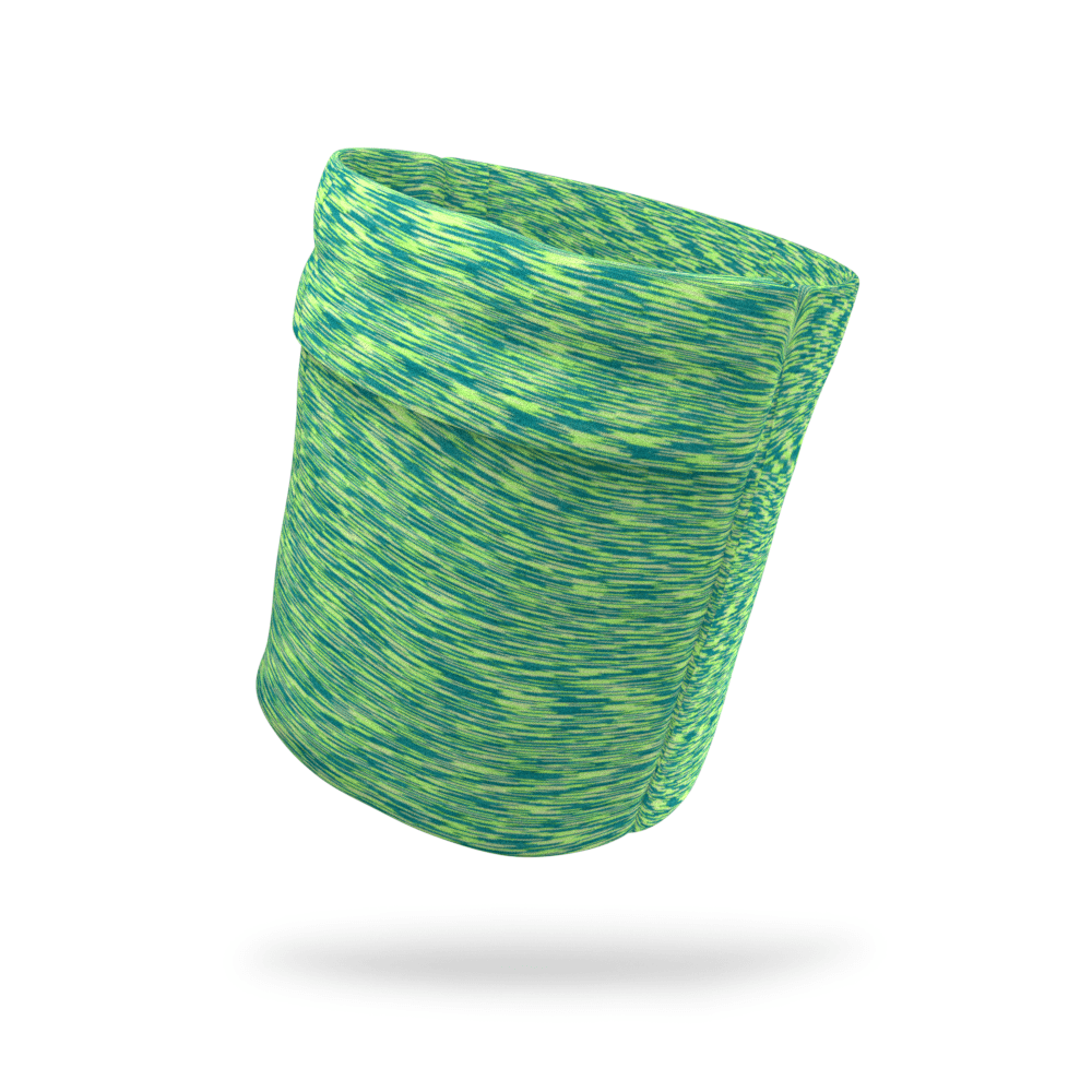 Green and Blue Static Armband