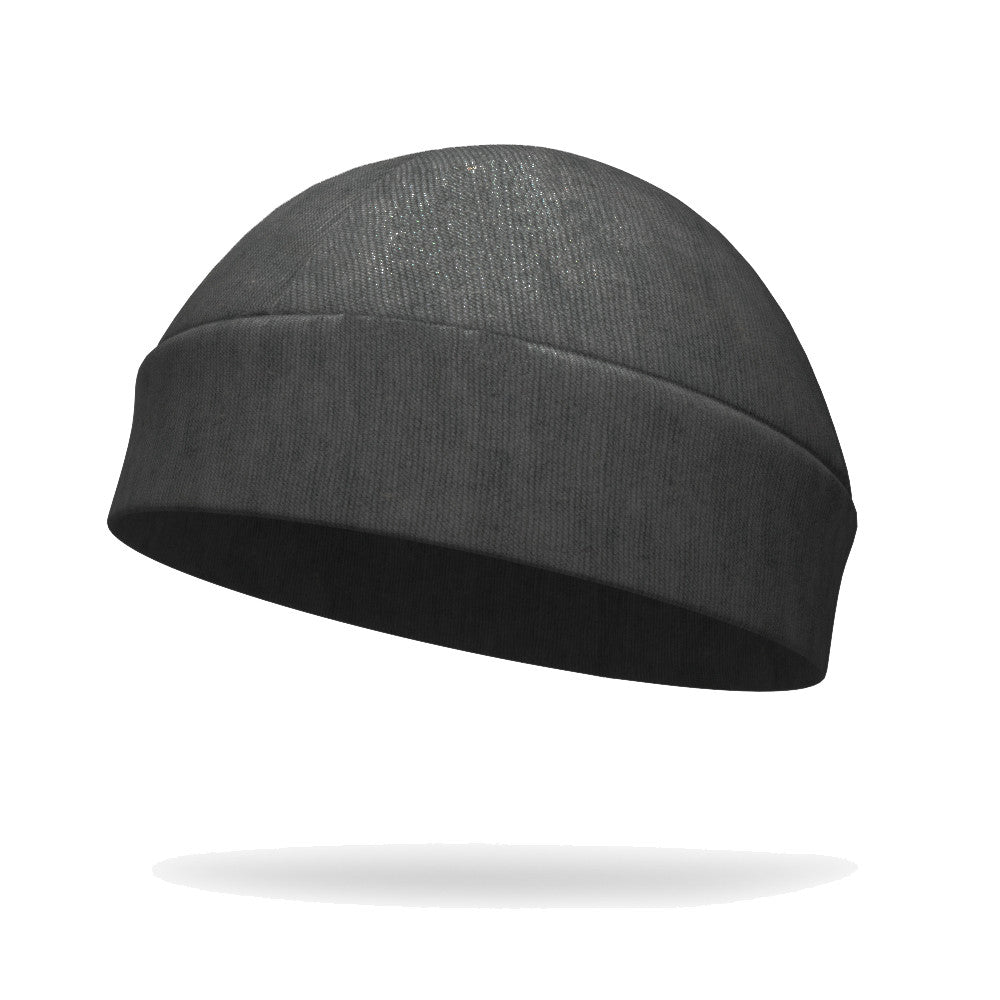 Heather Charcoal Organic Bamboo Regular Hat - Bondi Band