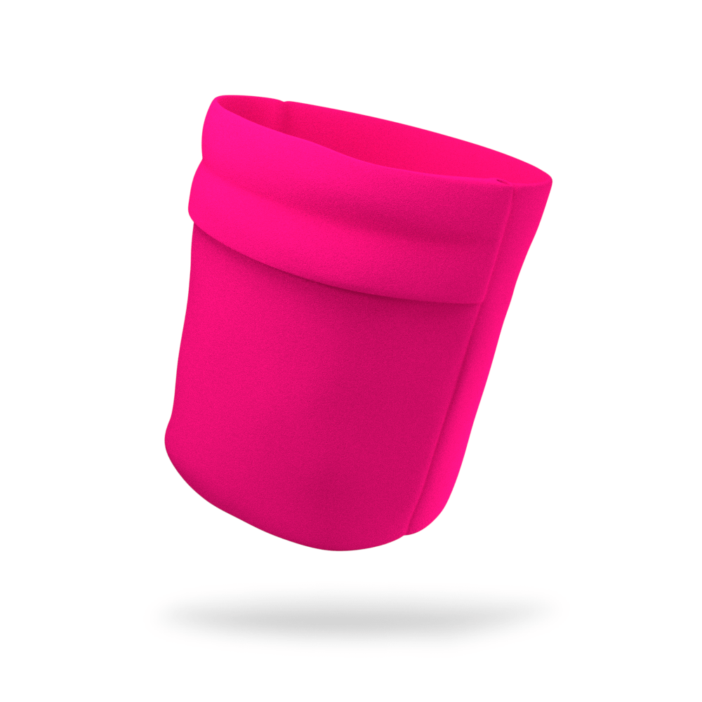 Jazzberry Pink Solid Color Wicking Armband