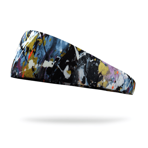 God is Greater than the Ups and Downs Wicking Performance Headband (Designed by Leslie Parker)