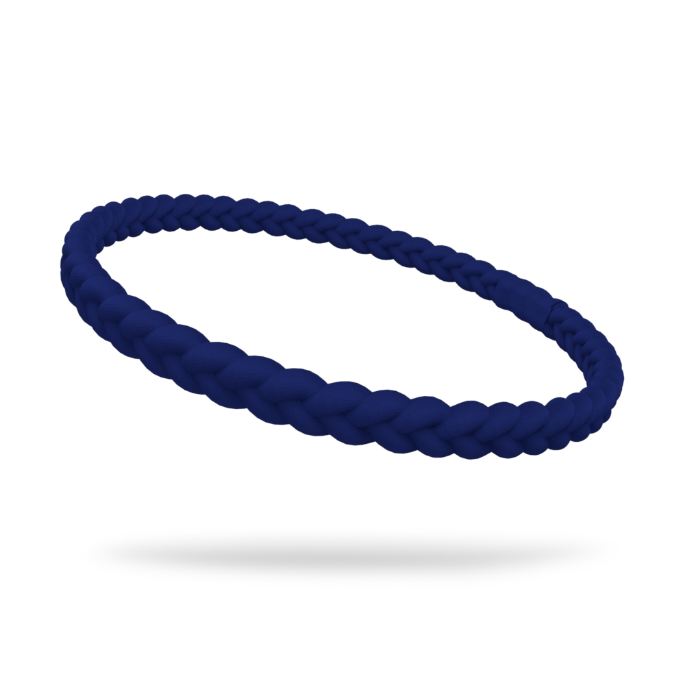 Navy Single Braided Skinnyband