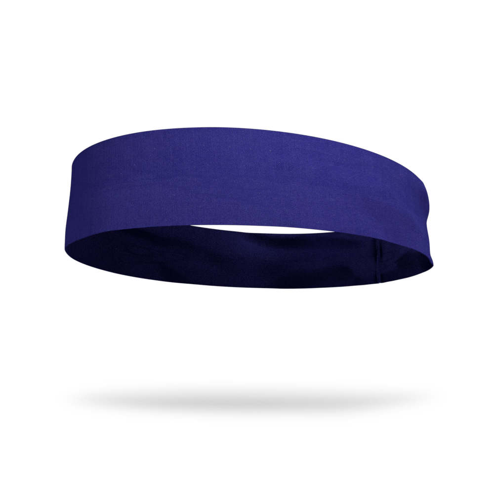 Nautical Navy Solid Color Headband