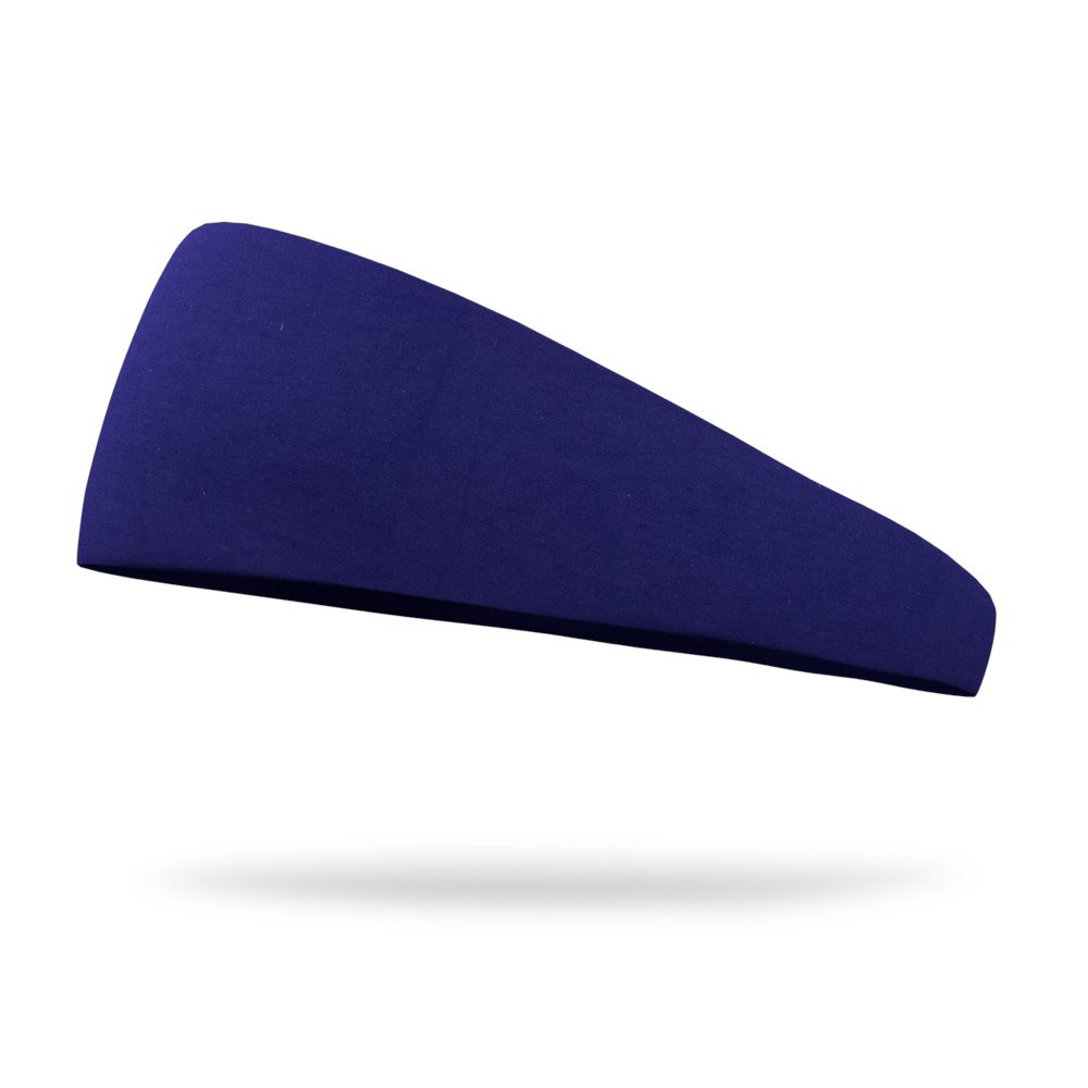 Navy Solid Color Headband