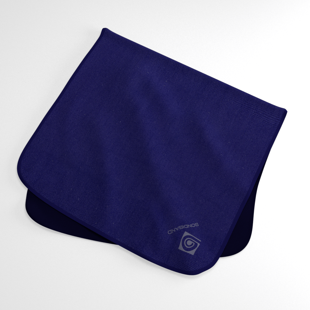 Nautical Navy Wicking Sweat Towel