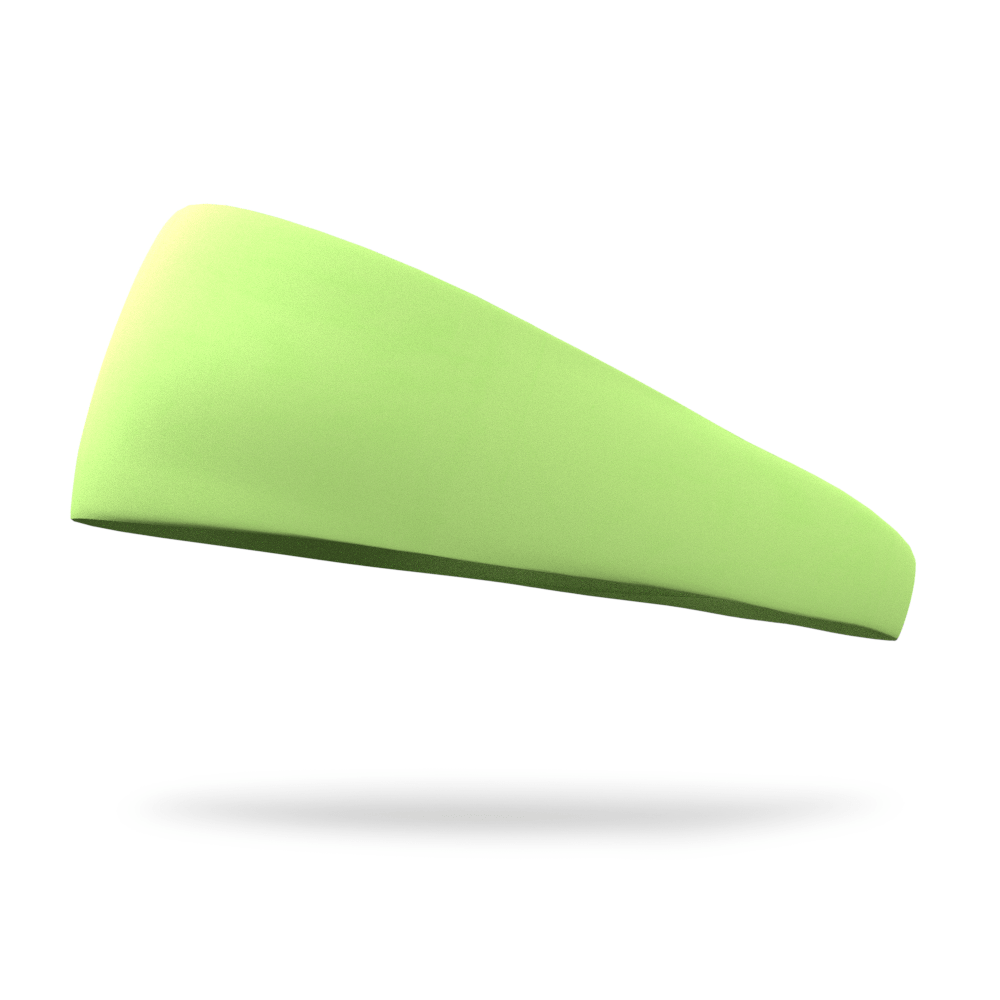 Neon Green Solid Color Headband