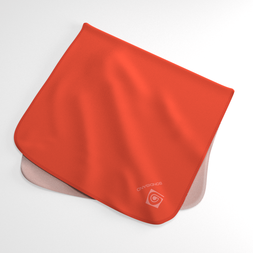 Hazard Neon Orange Wicking Sweat Towel