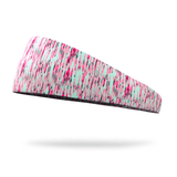 Neon Pink and Mint Static Kids Fashion Headband - Bondi Band