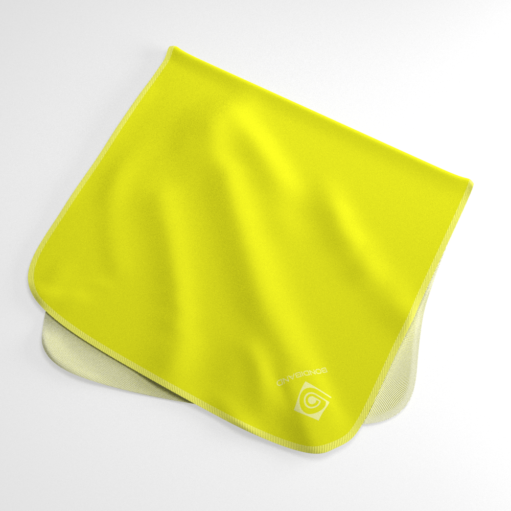 Electric Neon Yellow Wicking Sweat Towel