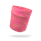 Pink and Orange Static Armband