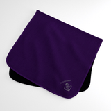 Posh Purple Wicking Sweat Towel