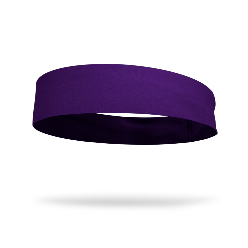 Posh Purple Solid Color Headband