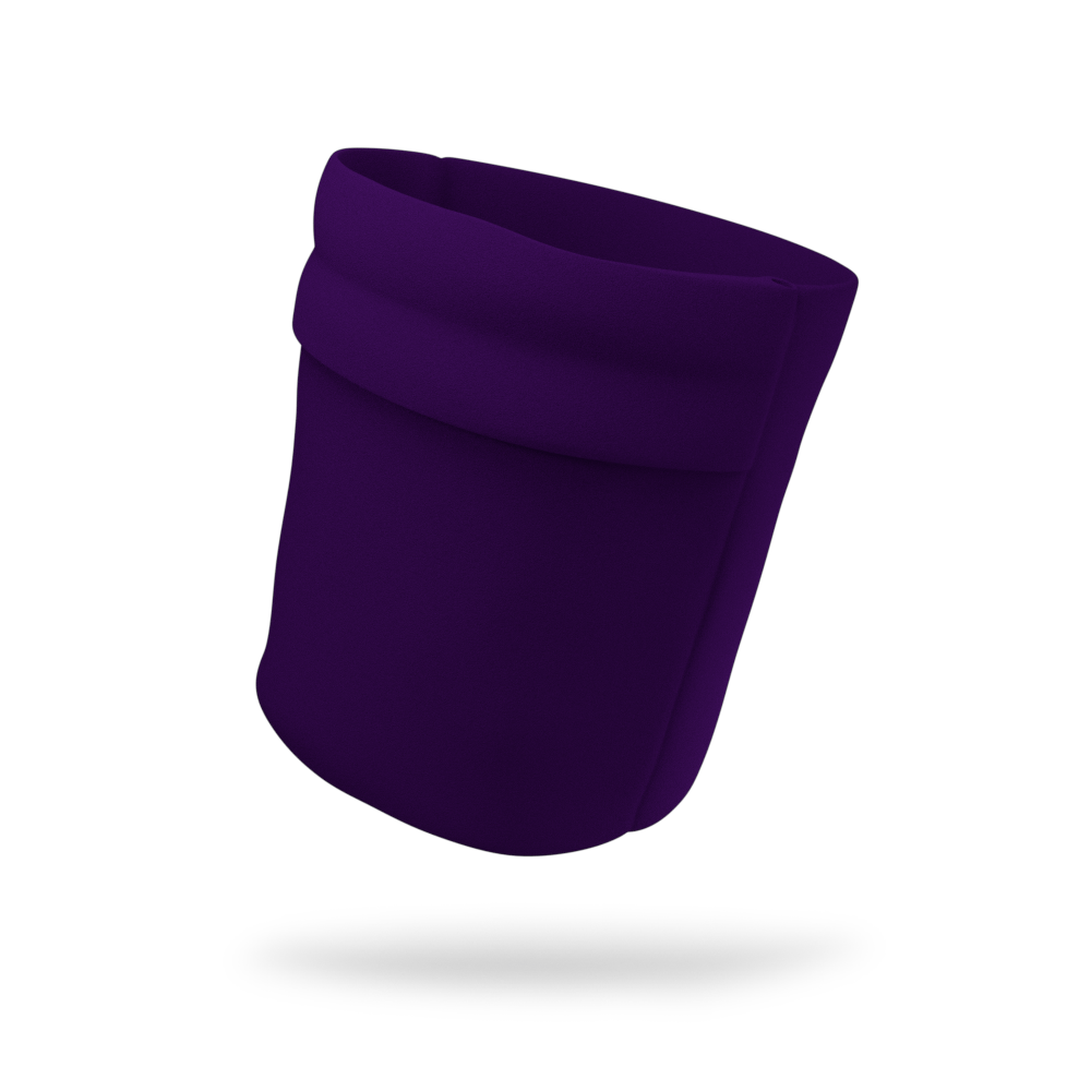 Posh Purple Solid Color Wicking Armband