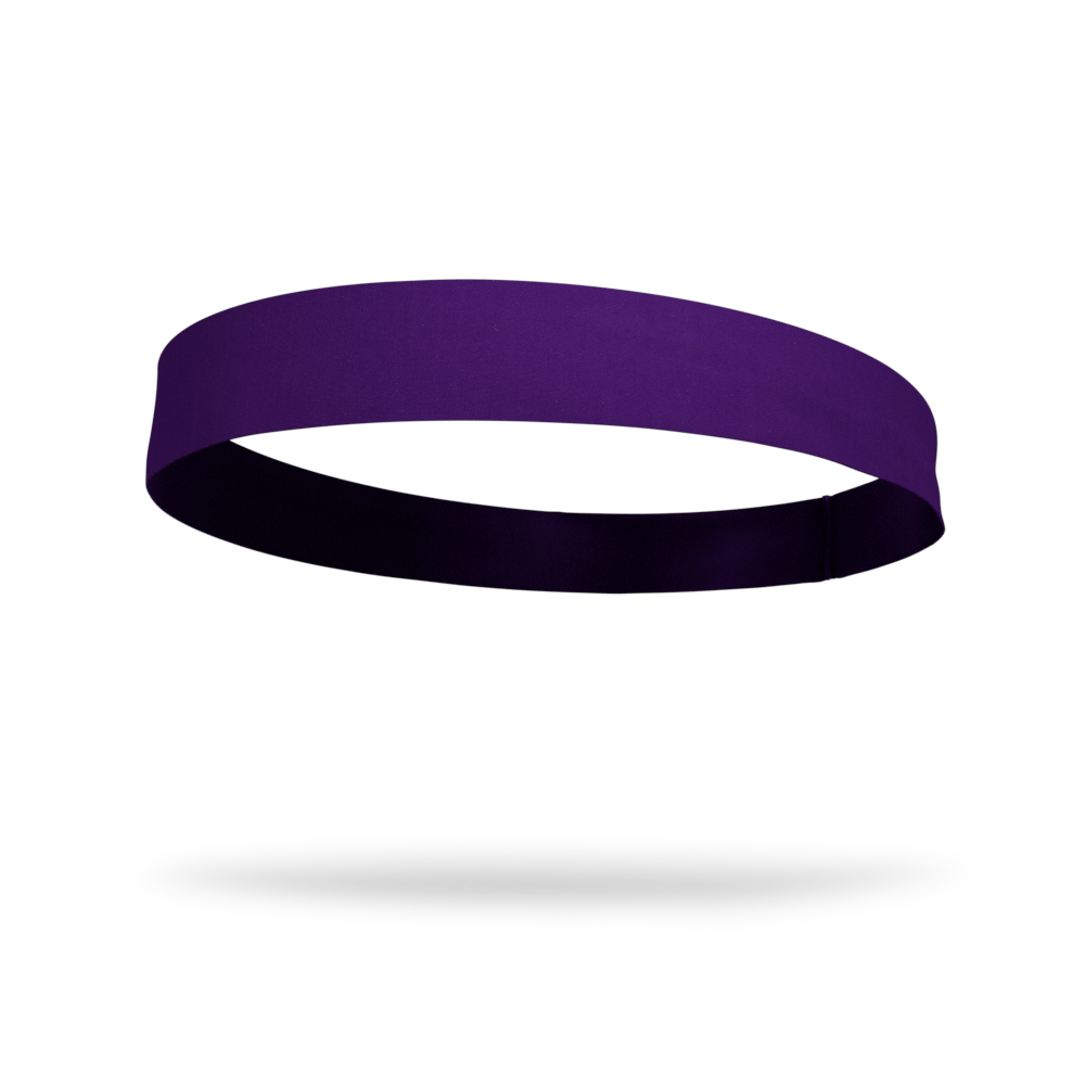 Purple Solid Color Headband