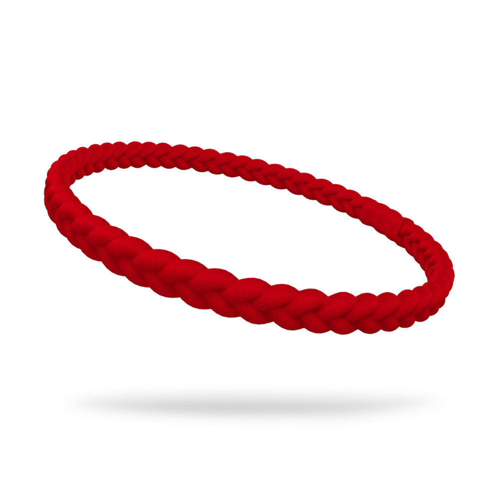 Red Single Braided Skinnyband