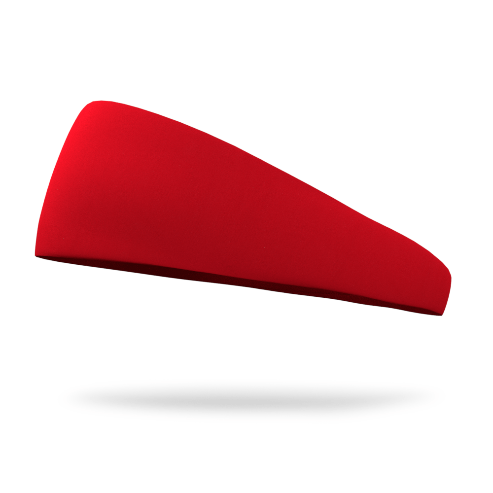 Molten Red Solid Color Headband