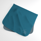 Teal Wicking Sweat Towel