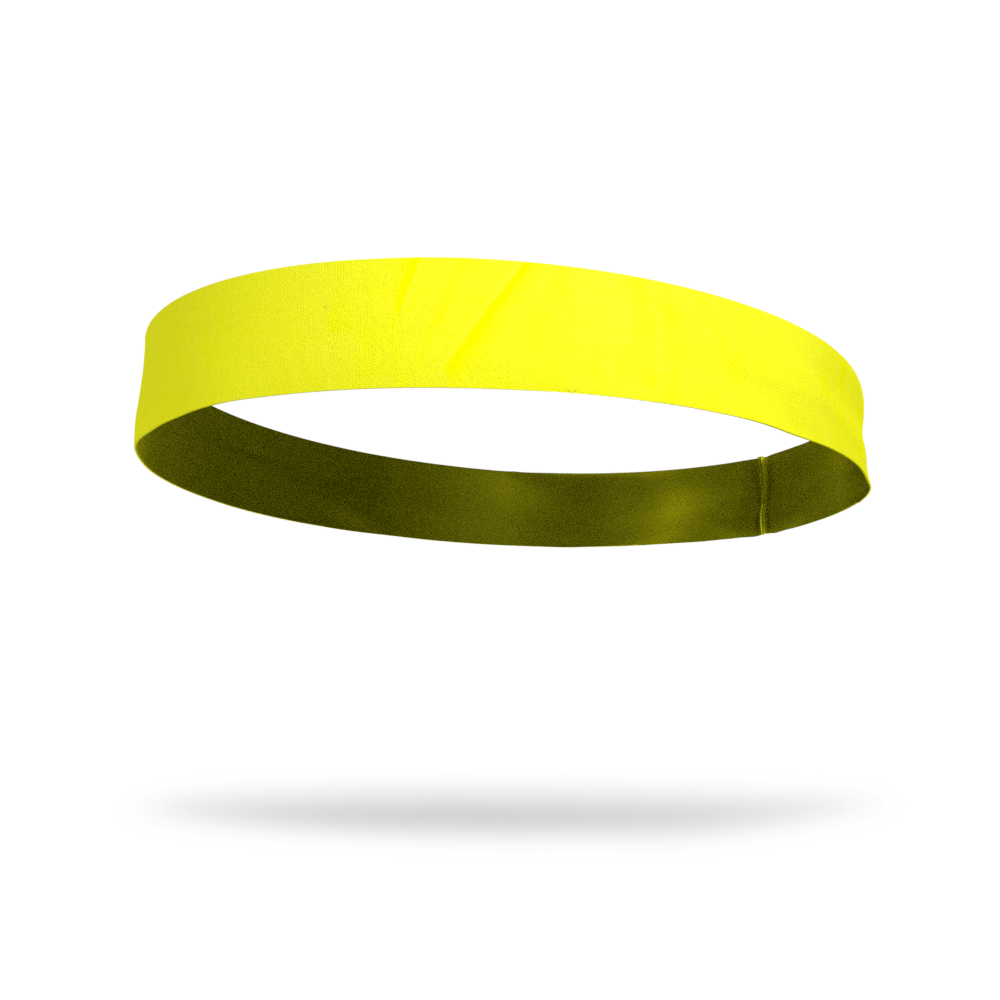Yellow Solid Color Headband