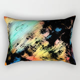 Rectangular Lumbar Throw Pillow