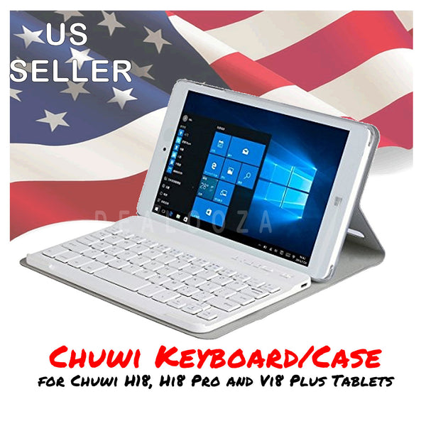Chuwi Hi8 Hi8 Pro Vi8 PlusProtective Case w/ Magnetic Bluetooth Keyboard White