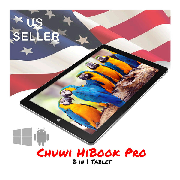 Chuwi HiBook Pro 10.1-Inch 4GB/64GB Tablet PC  2560 x 1600 Windows 10 + Android 5.1
