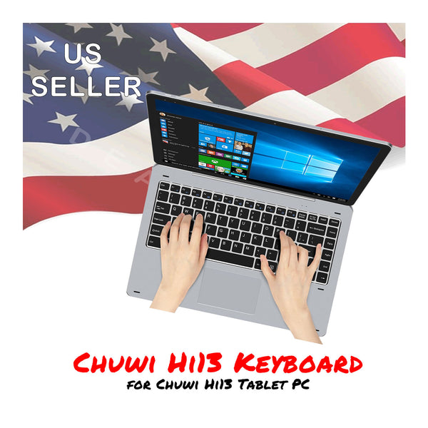Chuwi Hi13 Keyboard Metal Rotation w/ Magnetic Docking and Auto-Sleep - Silver