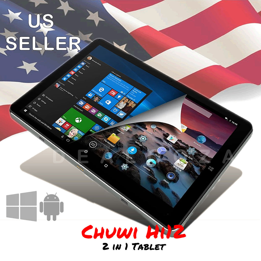 CHUWI Hi12 w/ US Power Supply and Screen Protector, Silver REFURBISHED