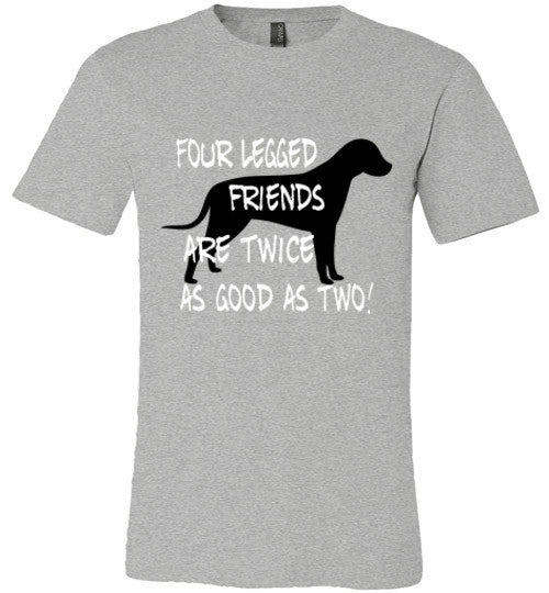 Four legged friends are twice as good as two - Dog - Furbabies.love - 9
