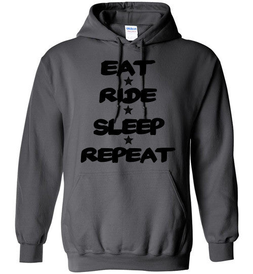 Eat Ride Sleep Repeat Hoodie Sweatshirt - Furbabies.love - 3