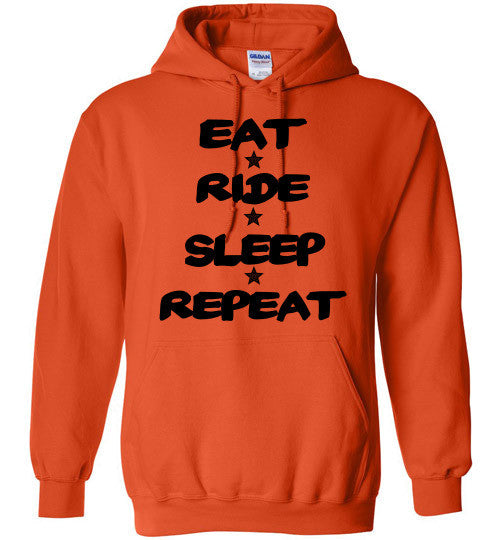 Eat Ride Sleep Repeat Hoodie Sweatshirt - Furbabies.love - 5