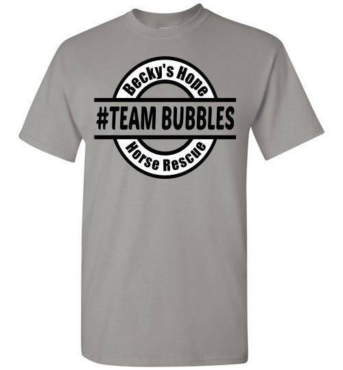 Becky's Hope Horse Rescue #TEAM BUBBLES T-Shirt - Furbabies.love - 4