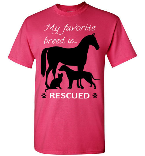 My favorite breed is RESCUED - Furbabies.love