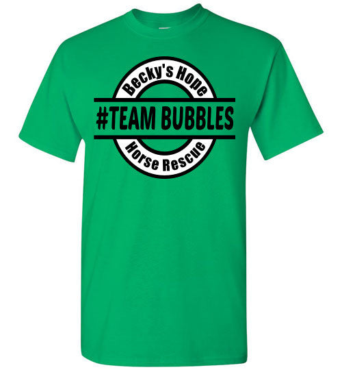 Becky's Hope Horse Rescue #TEAM BUBBLES T-Shirt - Furbabies.love - 7