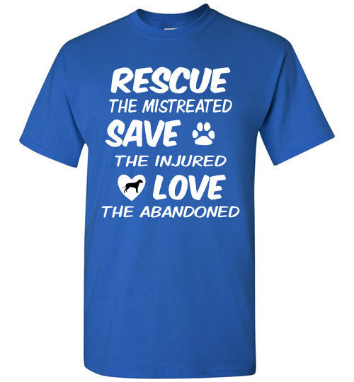 RESCUE - SAVE - LOVE - Dog - Furbabies.love