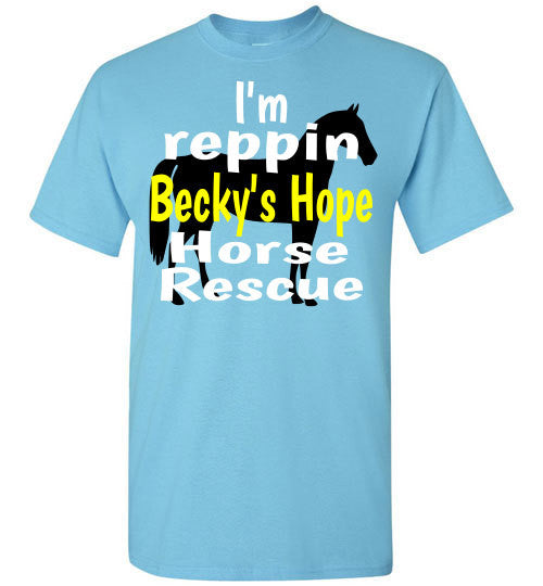 I'm REPPIN Becky's Hope Horse Rescue - Furbabies.love