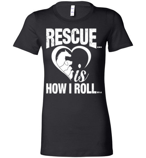 Rescue is How I Roll T-shirt - Furbabies.love - 11