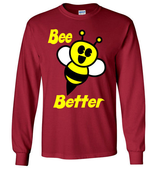 BEE Better Gildan Long Sleeve Tee-shirt - Furbabies.love - 2
