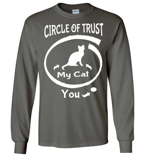 Circle of Trust - CAT Long Sleeve T-Shirt - Furbabies.love - 2
