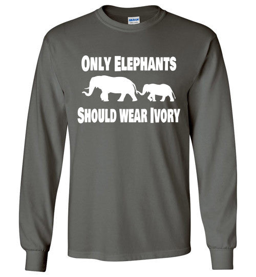 Only Elephants Should Wear Ivory - Furbabies.love - 1