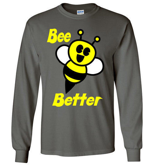 BEE Better Gildan Long Sleeve Tee-shirt - Furbabies.love - 3