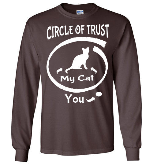 Circle of Trust - CAT Long Sleeve T-Shirt - Furbabies.love - 3