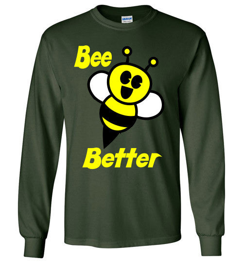 BEE Better Gildan Long Sleeve Tee-shirt - Furbabies.love - 4