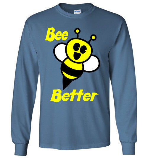 BEE Better Gildan Long Sleeve Tee-shirt - Furbabies.love - 5
