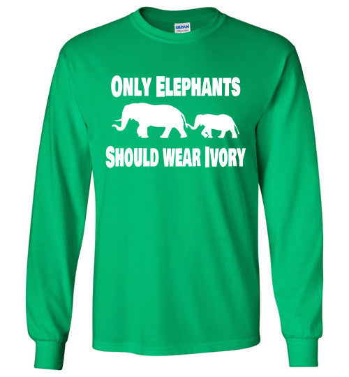 Only Elephants Should Wear Ivory - Furbabies.love - 2