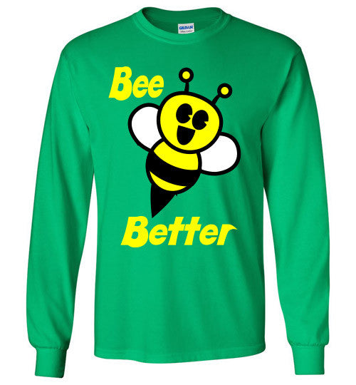 BEE Better Gildan Long Sleeve Tee-shirt - Furbabies.love - 6