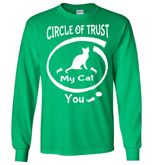 Circle of Trust - CAT Long Sleeve T-Shirt - Furbabies.love - 4