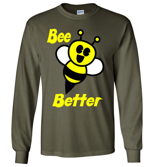 BEE Better Gildan Long Sleeve Tee-shirt - Furbabies.love - 7